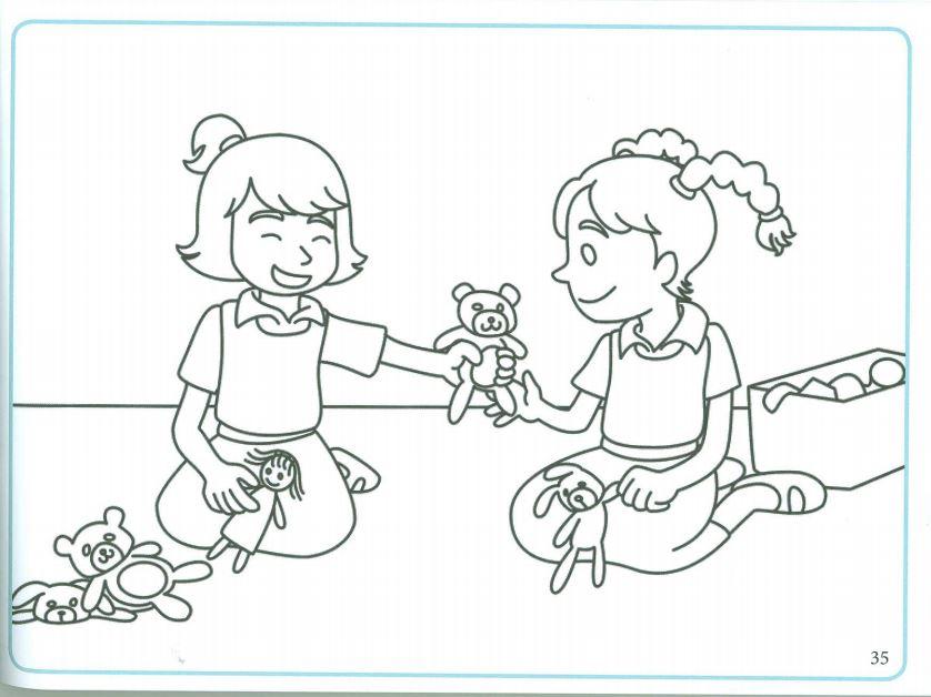 رسومات تلوين للاطفال - جاهز للطباعة