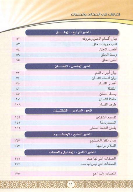 تحميل كتاب إضاءات في المخارج والصفات هدى العمروسي pdf