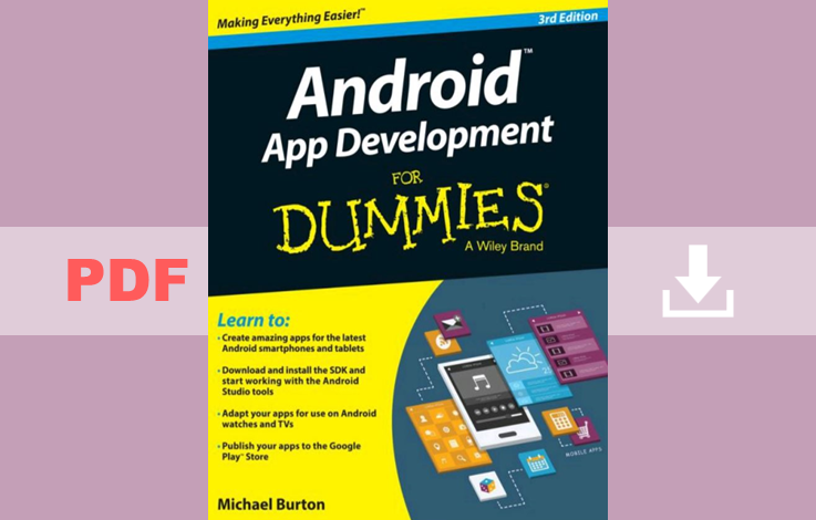 Android Application Development For Dummies PDF for free
