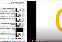 Apprendre à parler le français en 60 secondes - Flashcard série.