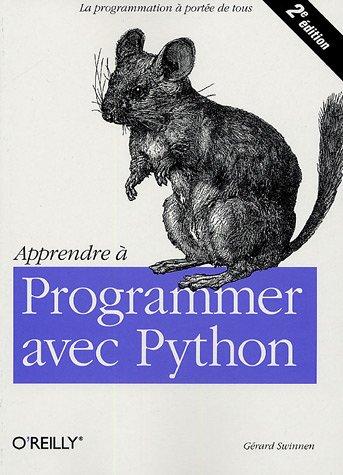 Apprendre a programmer avec Python de Gérard Swinnen