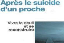 Après le suicide d'un proche pdf