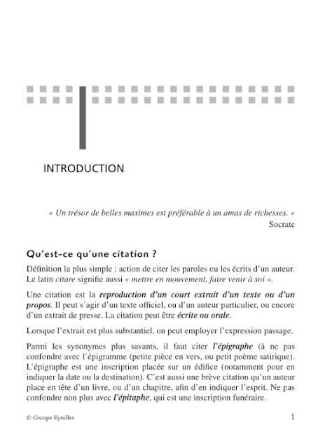 Bien utiliser les citations dans les examens et les concours pdf