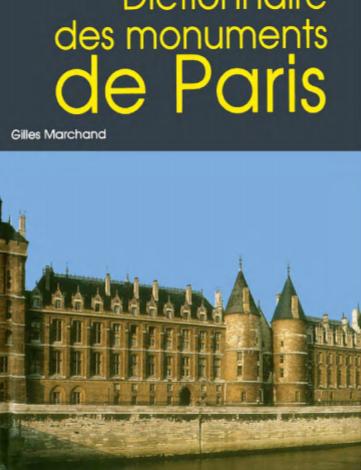 dictionnaire des monuments de paris editions hervas 1992