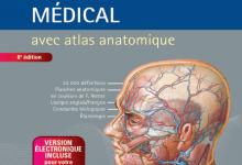 Dictionnaire médical avec atlas anatomique