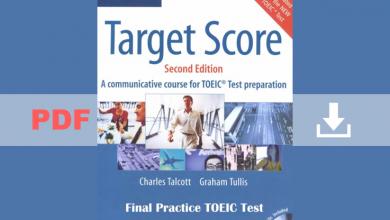 Cambridge Target Score for TOEIC ( 3 PDF books + 3 CDs)