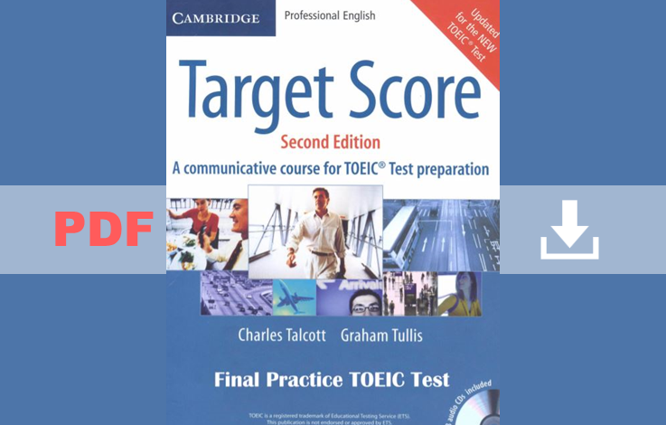Cambridge Target Score for TOEIC ( 3 PDF books + 3 CDs)
