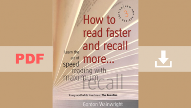 How to Read Faster and Recall More by Gordon Wainwright PDF for Free