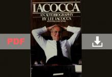 Iacocca an Autobiography Lee Iacocca with William Novak PDF