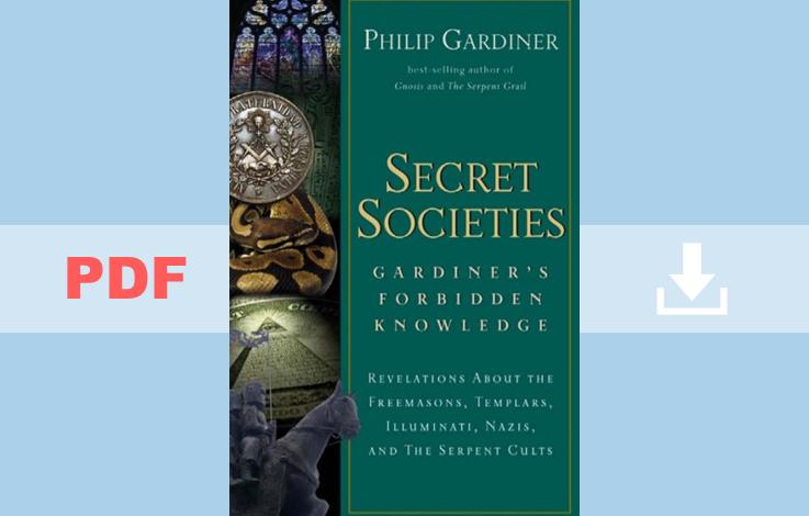 Secret Societies : Gardiner's Forbidden Knowledge PDF for Free