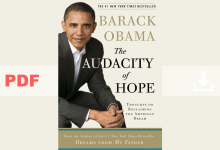 The Audacity of Hope by Barack Obama PDF for Free