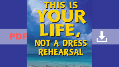 This is your life ot a dress REHEARSAL PDF
