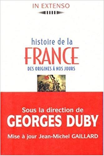 Histoire de la France des origines à nous jours