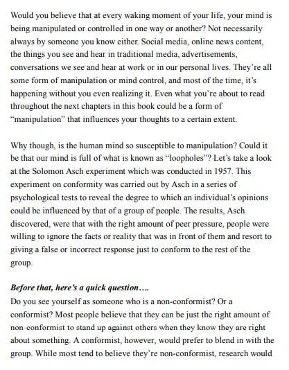 How To Analyze People - Daniel Spade