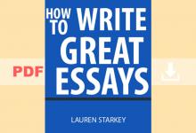 How to write great essays By Lauren Starkey
