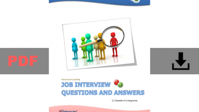 Job interview Questions and Answers Book pdf for free