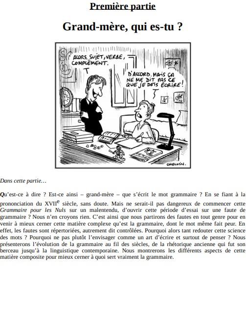 La Grammaire française pour les nuls - Marie-Dominique Porée