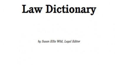 Law Dictionary pdf - Susan Ellis