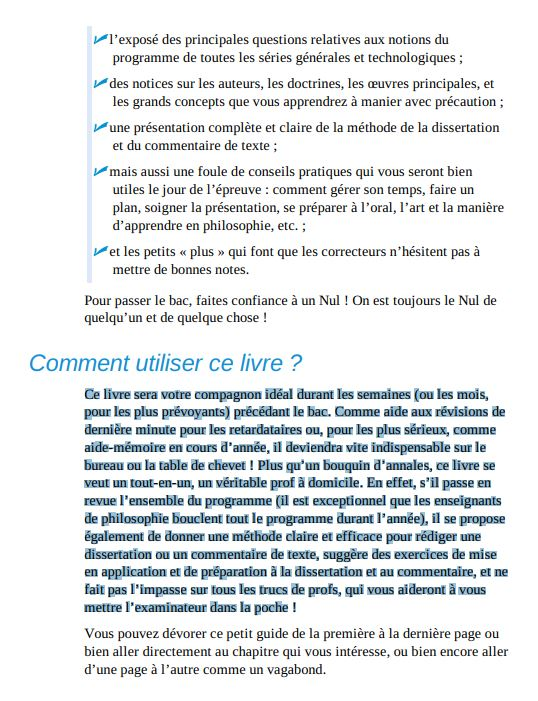 Le Bac philosophie pour les nuls en PDF Gratuit