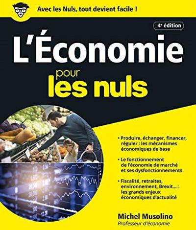 L'économie pour les nuls - Michel Musolino