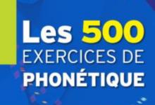 Les 500 exercices de phonétique A1A2 pdf gratuit