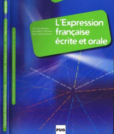 L'expression française écrite et orale en PDF