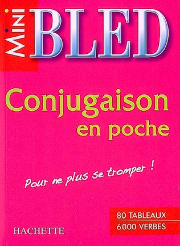 Mini BLED Conjugaison en Poche