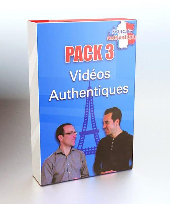 Pack 3 Français Authentique