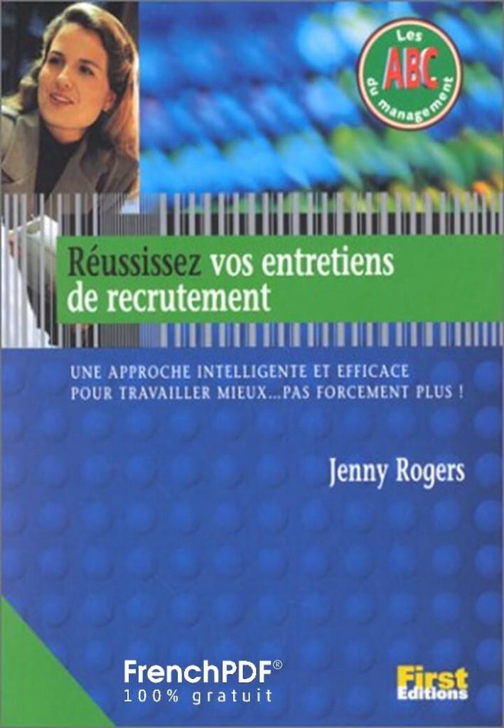 Réussissez vos entretiens de recrutement pdf gratuit