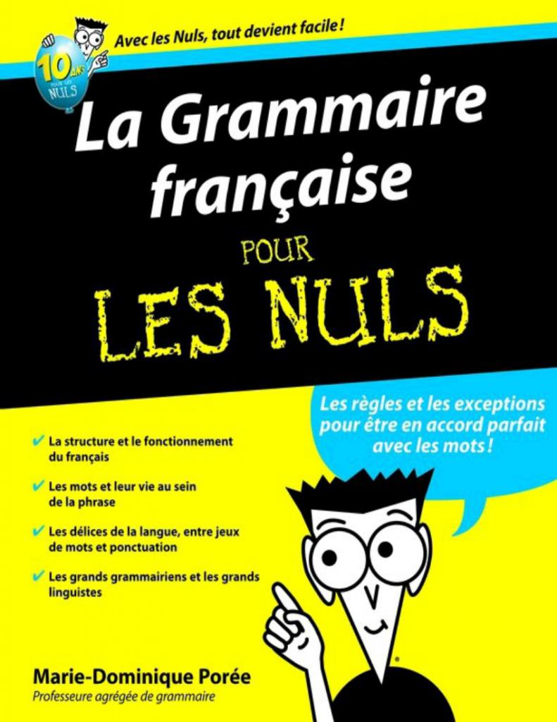 la Grammaire française pour les nuls pdf