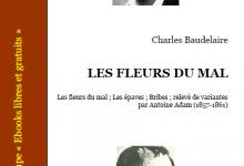 Les Fleurs du mal en PDF Charles Baudelaire