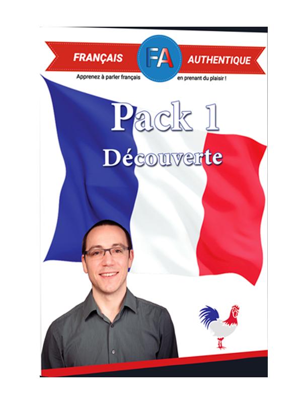 pack1 français authentique