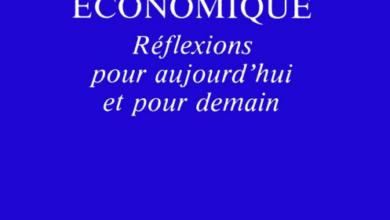politique économique réflexions pour aujourd'hui et pour demain